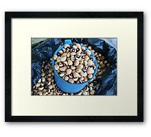 More Beans Framed Print
