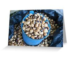 More Beans Greeting Card