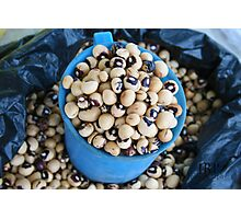 More Beans Photographic Print