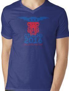 Vote Cthulhu for President 2016 No Lives Matter Mens V-Neck T-Shirt