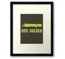 USCM Colonial Marines USS Sulaco  Framed Print