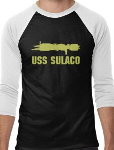 USCM Colonial Marines USS Sulaco  Men's Baseball ¾ T-Shirt