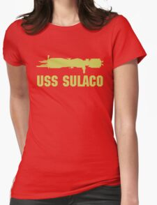 USCM Colonial Marines USS Sulaco  Womens Fitted T-Shirt