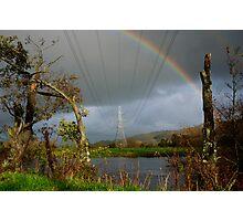 Electric Rainbow  Photographic Print