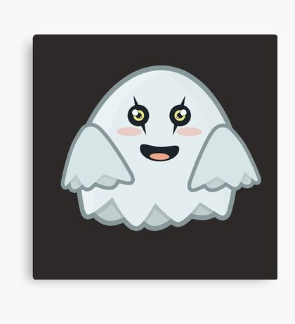 Kawaii Ghost Canvas Print
