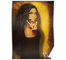 Amy Lee Portrait Poster