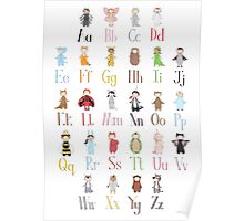Little Costume Club // Animal Alphabet  Poster