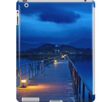 The sound of silence at Prespes lakes iPad Case/Skin