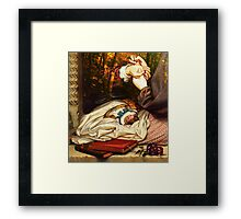 CHILDHOOD'S WANE ~ FIRST LOVE'S PRICK Framed Print