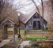 Story Inn Herb Garden by David Owens