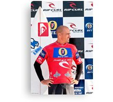 Kelly Slater at  Rip Curl Pro Pipe Masters 06 Canvas Print