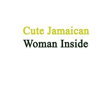 Cute Jamaican Woman Inside  by supernova23