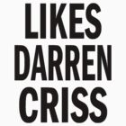 Likes Darren Criss by KatieJMiller