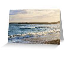 Stormy Seas ~ Lyme Regis Greeting Card