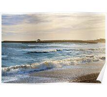 Stormy Seas ~ Lyme Regis Poster
