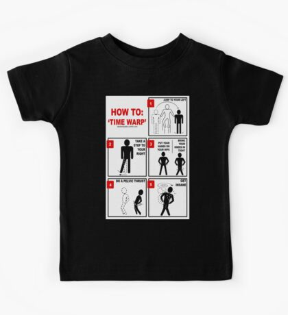 Rocky Horror Picture Show Time Warp Kids Tee
