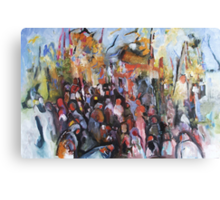 Occupy... Wounded Knee Canvas Print