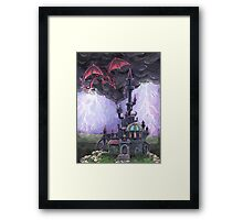 Dragon Castle Framed Print