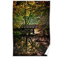 Oak Bridge, Central Park Poster