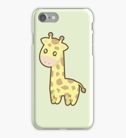 Kawaii Giraffe iPhone Case/Skin
