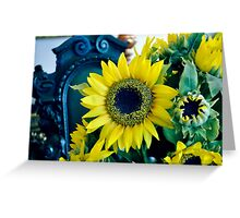 Sunflower -Small Greeting Card