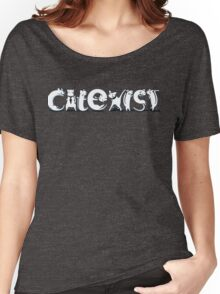 Cat-Exist | Coexist Women's Relaxed Fit T-Shirt