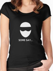 Some Say... The Stig Women's Fitted Scoop T-Shirt