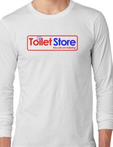 Toilet Store: Fine Suits and Tailoring Long Sleeve T-Shirt