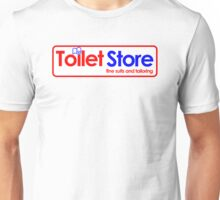 Toilet Store: Fine Suits and Tailoring Unisex T-Shirt