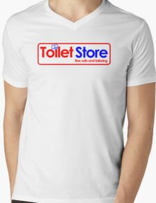 Toilet Store: Fine Suits and Tailoring Mens V-Neck T-Shirt