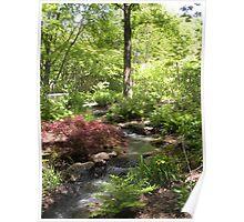 A Favorite Garden Spot Poster