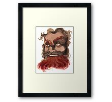 Belial the Lord of Lies Framed Print