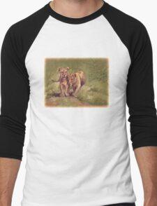 Lion Cubs Men's Baseball ¾ T-Shirt