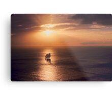 Sunset Cruiser Metal Print