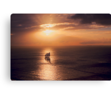 Sunset Cruiser Canvas Print