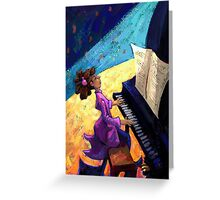 Piano Concert Greeting Card