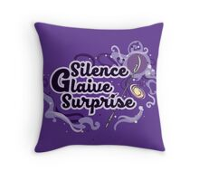 Silence Glaive Surprise - Sailor Saturn Throw Pillow