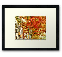 South End Framed Print