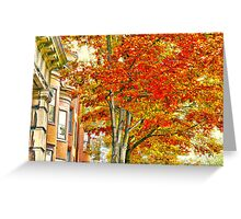 South End Greeting Card