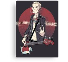 Nevermind the Blood Loss Canvas Print