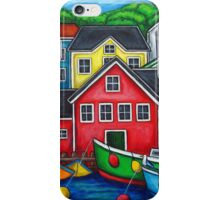 Colours of Lunenburg, Nova Scotia iPhone Case/Skin