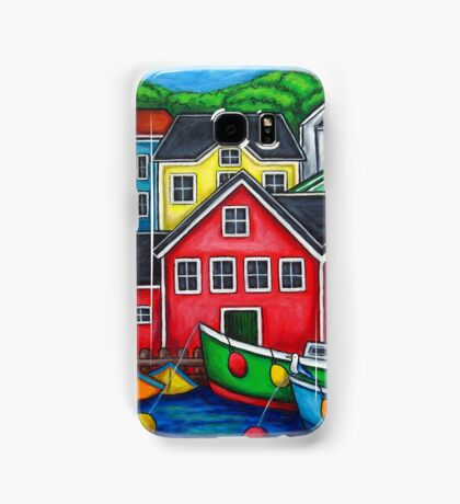 Colours of Lunenburg, Nova Scotia Samsung Galaxy Case/Skin