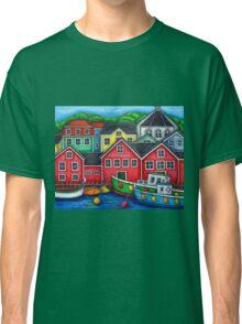 Colours of Lunenburg, Nova Scotia Classic T-Shirt