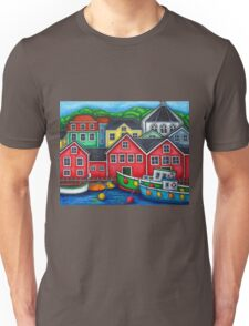 Colours of Lunenburg, Nova Scotia Unisex T-Shirt
