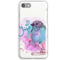 good morning bird iPhone Case/Skin