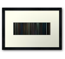 Moviebarcode: Harry Potter and the Goblet of Fire (2005) Framed Print