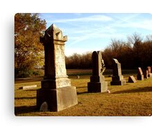Harris Cemetery Canvas Print