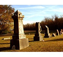 Harris Cemetery Photographic Print