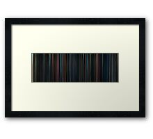 Moviebarcode: Harry Potter and the Order of the Phoenix (2007) Framed Print