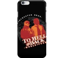 Winchester Bros. World Tour iPhone Case/Skin